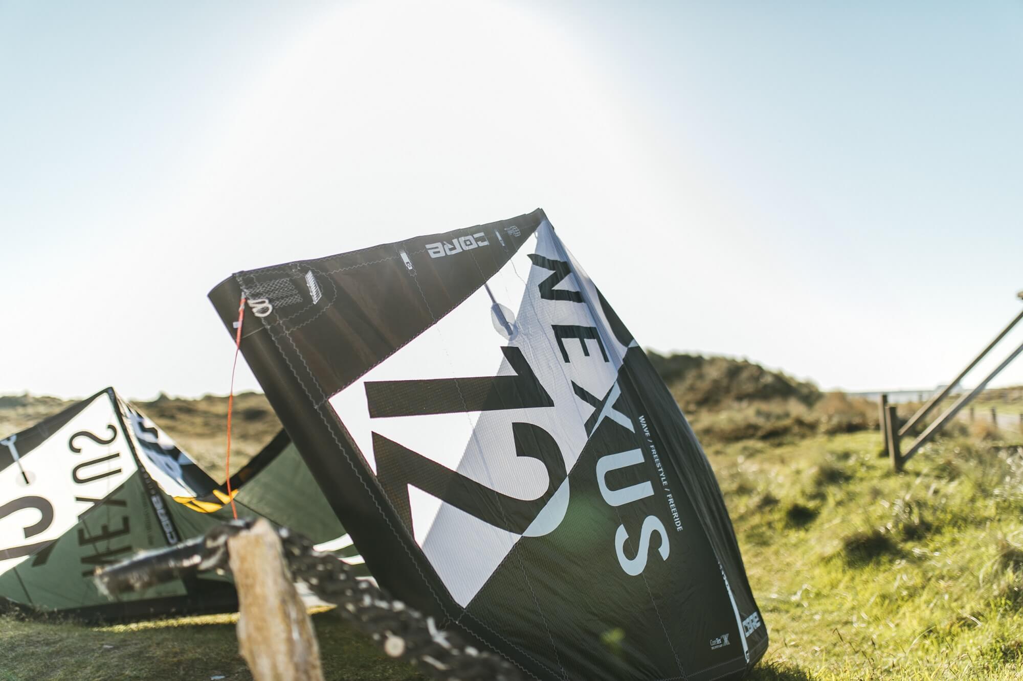 Kitesurf-Equipment