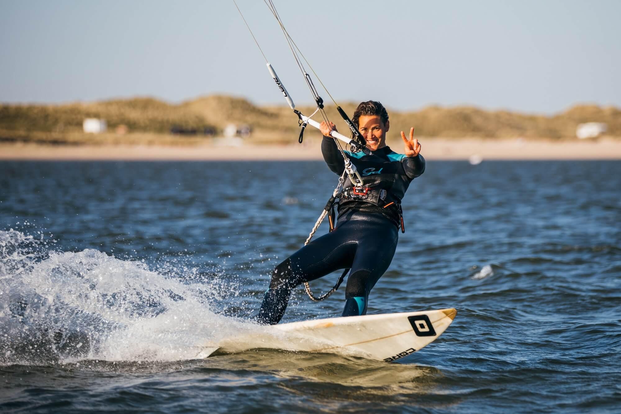 So entspannt zu Kiten - das Ziel für alle Einsteiger.
