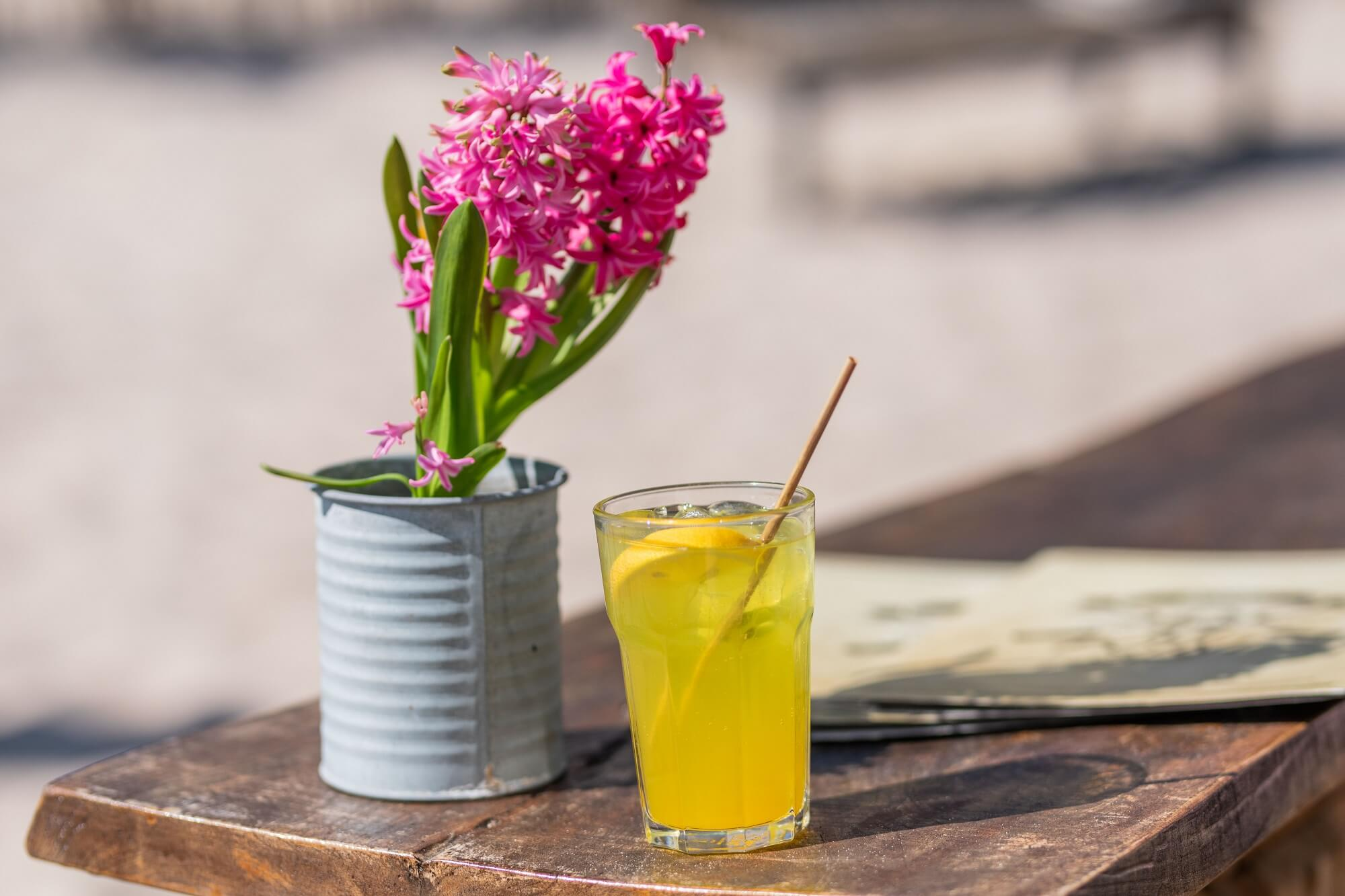 Coole Drinks - Heiße Location